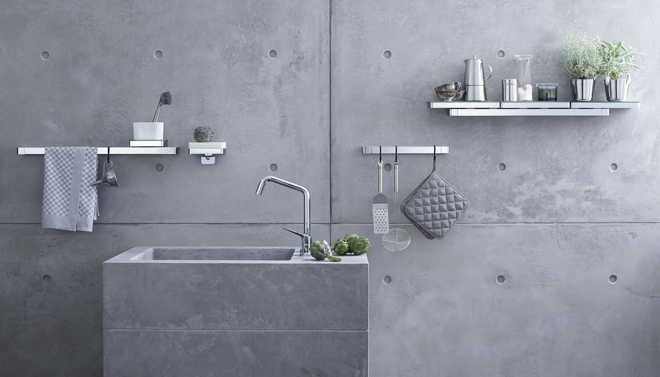 Hansgrohe Axor. Accessoires Universal.